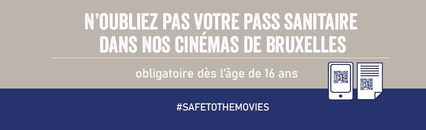 N'oubliez pas votre Pass Sanitaire dans nos cinémas de Bruxelles. Obligatoire dès l'âge de 16 ans. #safetothemovies UGC